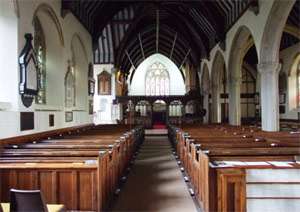 Chudleigh Church Interior