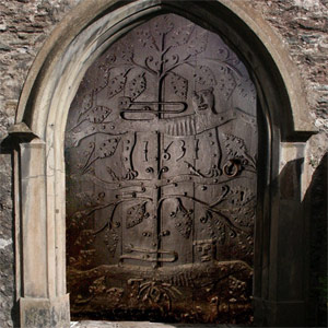 'Tree of Life' Door at Dartmouth